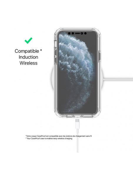 5 iPhone 11 PRO - 360 grado Shockproof - Serie Clear SHOCK