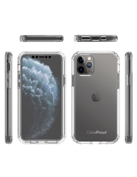 6 iPhone 11 PRO - 360 grado Shockproof - Serie Clear SHOCK