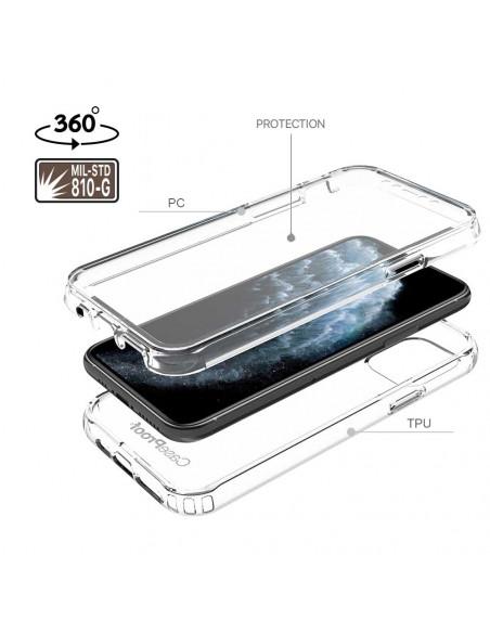 7 iPhone 11 PRO - 360 grado Shockproof - Serie Clear SHOCK