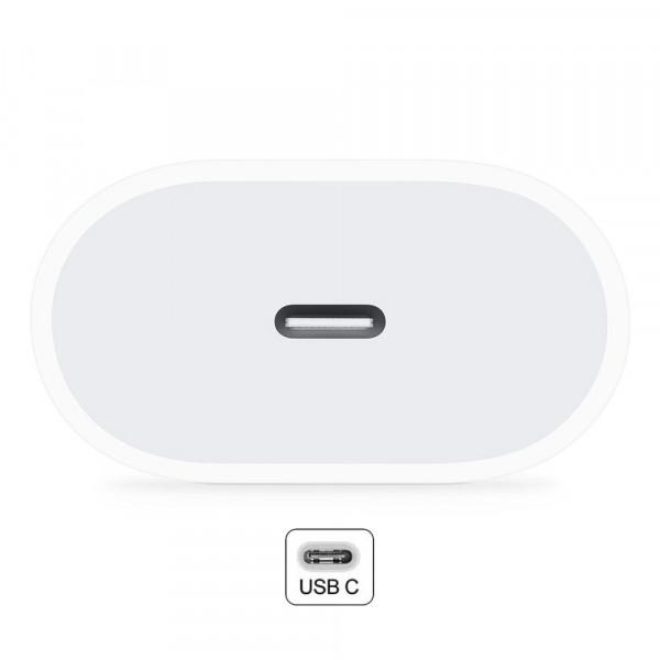 3 Adaptador de corriente USB-C de 20 W