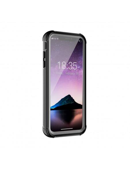 1 iPhone Xs Max - Protección contra golpes de 360 grado - Serie SHOCK