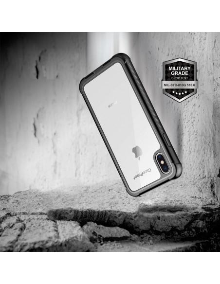 4 iPhone Xs Max - Protección contra golpes de 360 grado - Serie SHOCK