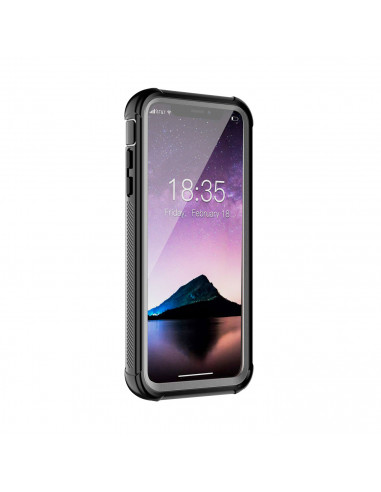 1 iPhone Xs / X - Protección contra golpes de 360 grado - Serie SHOCK