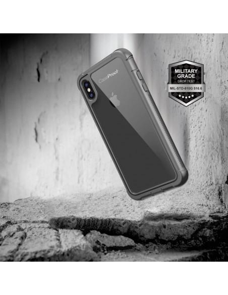 4 iPhone Xs / X - Protección contra golpes de 360 grado - Serie SHOCK