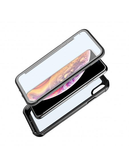 5 iPhone Xs / X - Protección contra golpes de 360 grado - Serie SHOCK