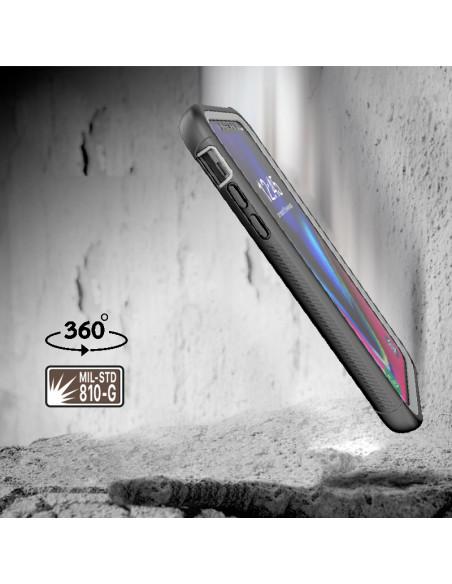 2 iPhone 11 Pro Max - Protección contra golpes de 360 grado - Serie SHOCK