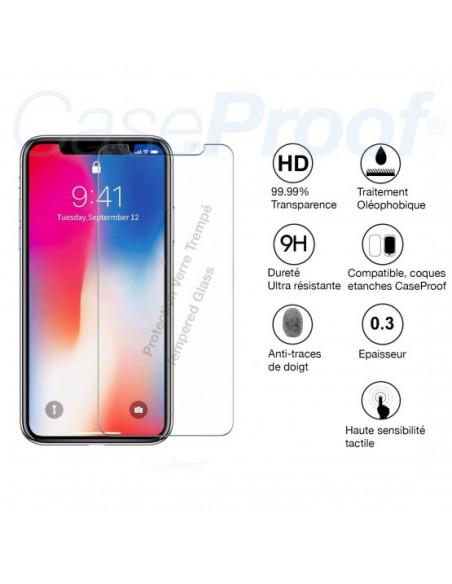 3 iPhone 12 Mini - Protector de pantalla de vidrio templado