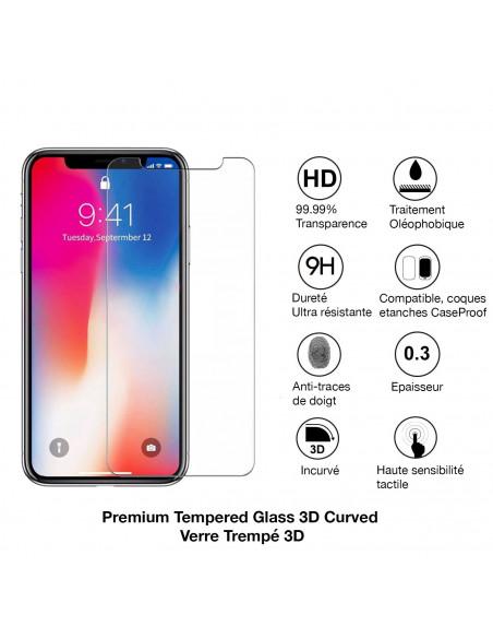 4 iPhone 11 Pro Max / Xs Max - Protector de pantalla de vidrio templado