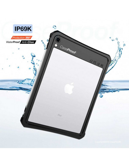 6 iPad 10.2 - Funda CaseProof resistente al agua y a los golpes