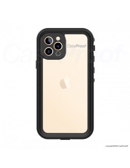 1 iPhone 12 Pro Max - Funda resistente al agua y a los golpes - Serie WATERPROOF