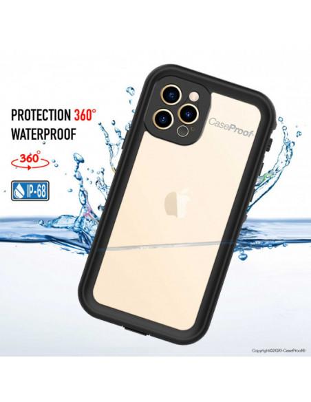 3 iPhone 12 Pro Max - Funda resistente al agua y a los golpes - Serie WATERPROOF