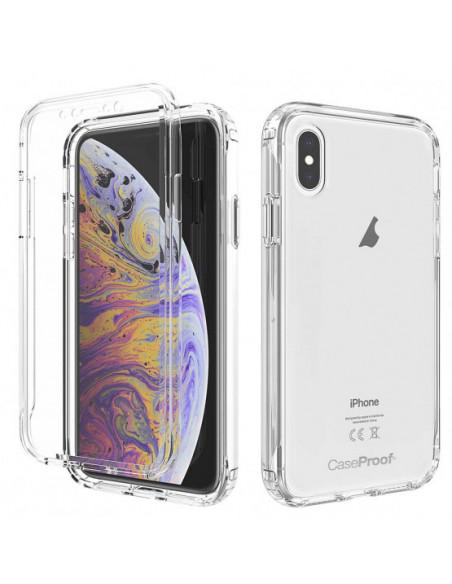 1 iPhone XS - Protección contra golpes de 360 grados - Serie Clear SHOCK