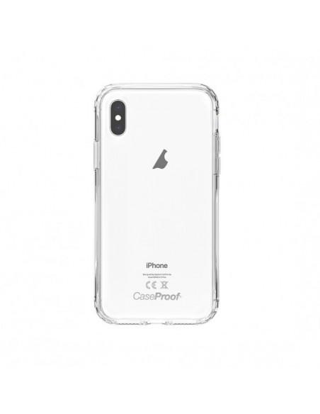 2 iPhone XS - Protección contra golpes de 360 grados - Serie Clear SHOCK