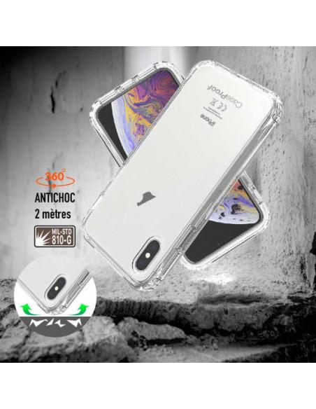 3 iPhone XS - Protección contra golpes de 360 grados - Serie Clear SHOCK