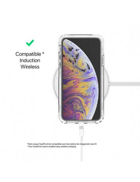5 iPhone XS - Protección contra golpes de 360 grados - Serie Clear SHOCK