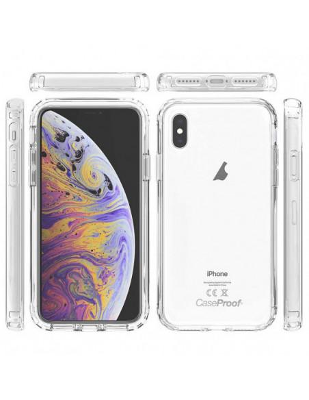 6 iPhone XS - Protección contra golpes de 360 grados - Serie Clear SHOCK