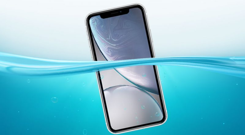 es el iphone xr sumergible